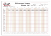 A1 Maintenance Forward Planner: 2017